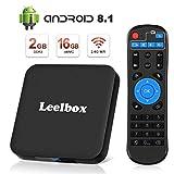 [Android 8.1 TV-Box] Leelbox Smart-TV-Box Q2 MINI Quad Core 2 GB RAM + 16 GB ROM/ 4K * 2K UHD H.265/ HDMI/USB * 2/...