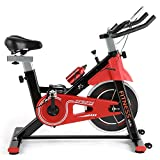 Fitness Club Exercise Bike Bicycle Spinning Bikes with 12KG Flywheel, Indoor Cycling Bike with adjustable ...