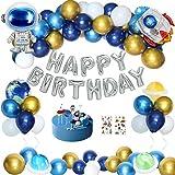 Fødselsdag dekoration dreng, børns fødselsdag dekoration balloner ...