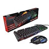 Canghai Gaming-Tastatur und Maus kabelgebundene Tastatur mit...