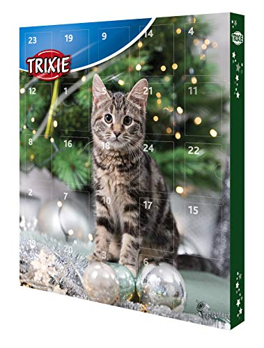 Trixie 9269 Vorweihnachtszeit Adventskalender für Katzen,...