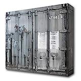 КОНТЕЙНЕР Стильный 4-дверный шкаф с множеством ...