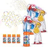 EPCHOO Bubble Gun, 2 STUKS LED Bubble Gun ...