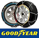 Goodyear GODKN120 snow chains 9 mm, T.120 9MM, Set of 2