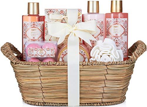 BRUBAKER Cosmetics Bade- und Dusch Set Aprikose und Granatapfel Duft -...