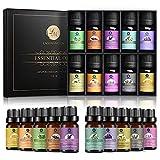 Lagunamoon Ätherische Öle Set, Top 10 reine Duftöl für Aroma Diffuser Aromatherapie Öle Geschenk-Set...
