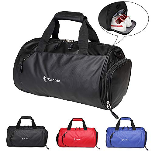 BTNEEU sports bag with shoe compartment for women and men, 20L travel bag women large, waterproof ...