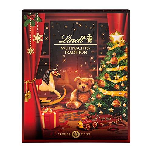 Lindt Weihnachts-Tradition Adventskalender (24 verschiedene...
