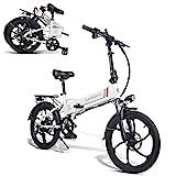 SAMEBIKE 20 inch elektrische fiets met 350 W 48 V 10 Ah ...