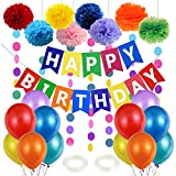 Børne fødselsdag dekoration, fødselsdag dekoration børn, fødselsdag ...