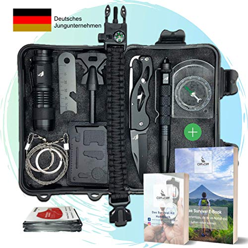 NEU 2020 Jungle Monkey Premium Survival Kit - Mit hochwertigem Me - 13er Set