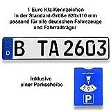 TA TradeArea 1 DIN-sertifisert lisensplate i ...