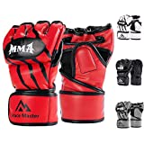Brace Master MMA Gloves UFC Gloves Leather Padding for men, women, ankle joint protection, ...