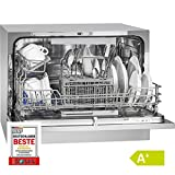 Bomann TSG 708 table dishwasher (energy class A +, space for 6 place settings, 5 programs) silver