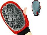 PurrCave® 3 in 1 Haustier Fellpflege Handschuh Beidhändig...