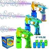 JOYIN 3 zeepbellenpistolen, LED zeepbellenpistool met ...