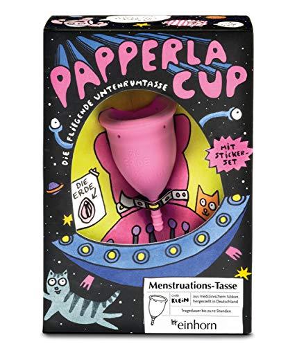 Papperlacup Menstruationstasse by einhorn - medizinisches Silikon, nachhaltig,...
