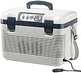 Xcase Kühlbox: Thermoelektrische Kühl-/Wärmebox, LED-Anzeige, 12/24 & 230 V,...