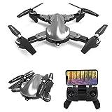 le-idea IDEA 12- Sammenleggbar GPS-drone med 2K 120 ° FPV WiFi-kamera HD live ...