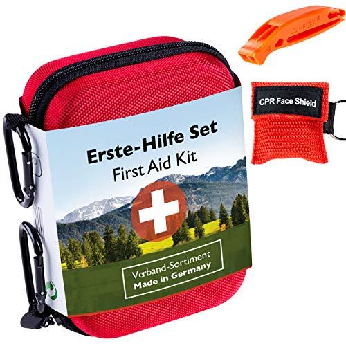 GoLab Erste Hilfe Set Outdoor, Sport & Reisen mit Notfallbeatmungsmaske +...