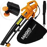 MASKO® elektrische bladblazer | 3 op 1 | 3000W | Schouder riem ...