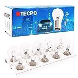 TecPo 10x Kugellampe BAY15S 12V 21/5W Bremslicht Standlicht...
