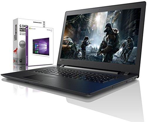 Lenovo (17,3 Zoll) Notebook (Intel Pentium 4415U 4-Thread CPU, 2.30 GHz, 8GB DDR4 RAM, 512GB SSD, Intel HD 610, HDMI, Webcam, Bluetooth, USB3.0, WLAN,...