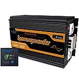 EDECOA Spannungswandler 12V 230V reine sinus 3500W Wechselrichter LCD...