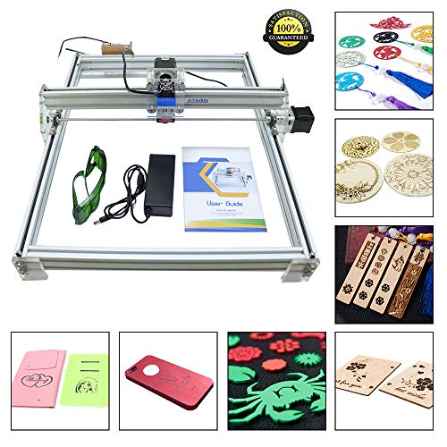 HUKOER 40X50 CM DIY CNC Laser Engraver Kits 12 V USB Desktop Laser Graviermaschine, einstellbare Laser Power Drucker Carving & Schneiden Holz...