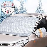 Автозащита лобового стекла Автозащита лобового стекла Зимняя защита, магнитный снежный покров с двумя ...
