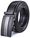 X XHtang belt men's automatic belt with automatic clasp-3,5cm width, black15, length 115cm ...