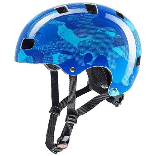 51-55 cm Uvex Unisex-Youth finale junior Bike Helmet Blue