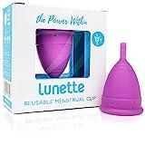 Lunette Menstruationstasse - Lila - Model 2 für normale oder starke Blutung –...