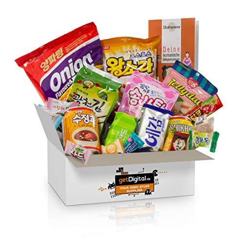 Dalgona-Box mit 20 koreanischen Süßigkeiten - Ausgewählter Mix aus...