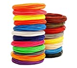 GYAM 3D-Druck-Stift-Filament, 20/30 Farben 5M/16,4 Fuß...