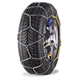 Michelin 92308 snow chains, M1 extreme grip 60, ABS and ESP compatible, TÜV / GS and ÖNORM, 2 pieces
