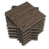WOLTU WPC terrastegels houtlook vlondertegels ...