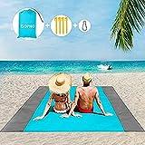 ISOPHO piknikteppe 200 x 210 cm strandteppe vanntett, ...