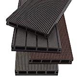 Home Deluxe - WPC vlonder donkerbruin - Aantal: 18 m² ...