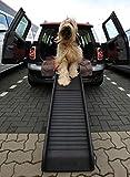 Lüllmann bilhunde rampe sammenleggbar plast klatrehjelp 155 x 40 cm opp til 90 kg ...
