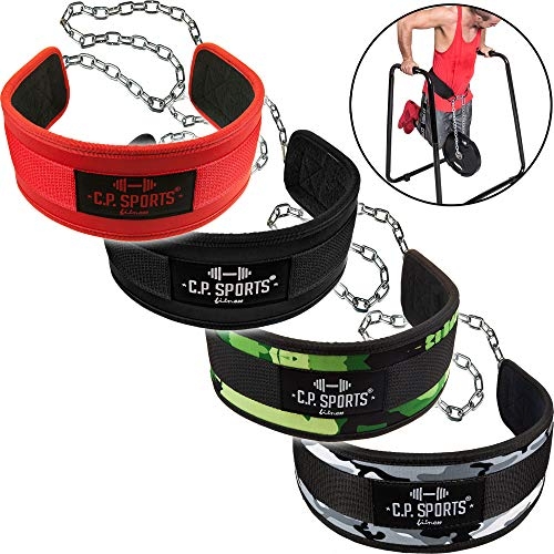 Kette 2 Karabiner für Dipgürtel Dips Diping Klimmzug Gürtel Gewichtgürtel Dip