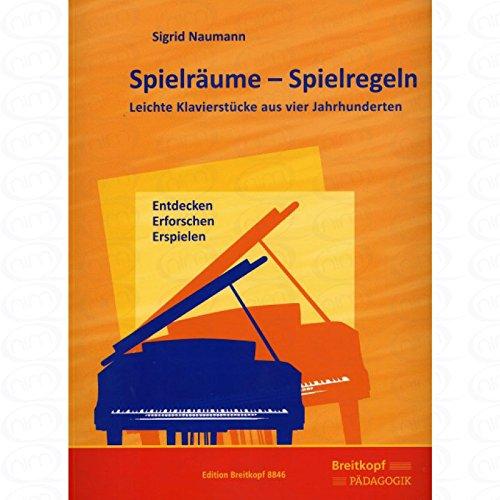 Spielraeume - Spielregeln - arrangiert für Klavier [Noten/Sheetmusic] Komponist...