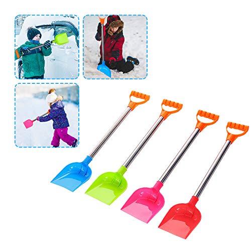 Lomelomme Schneeschieber Kinder Schneeschaufel leicht Kunststoff Kinderschaufel...