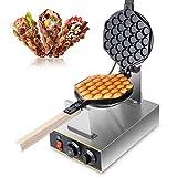 Z ZELUS Bubble Waffeleisen Waffle Maker 180° Drehbare Elektrische...