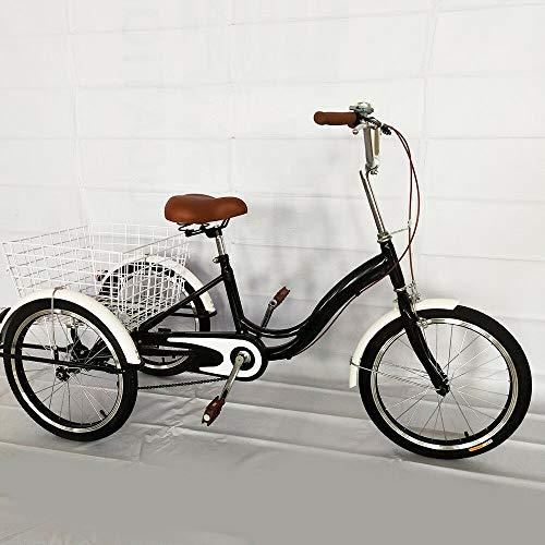 MINUS ONE Dreirad Für Erwachsene Erwachsenendreirad Fahrrad Mit 3 Rädern...