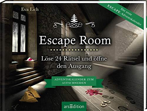 Escape Room. Der erste Escape-Adventskalender: Löse 24 Rätsel und öffne den...