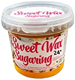 Sweet Wax 24 ° - Gold - 449g Natural sugaring sugar paste for hair removal by hand. For ambient temperatures of up to 24 °. Brazilian wax for ...