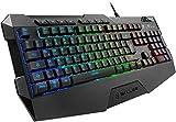 Sharkoon Skiller SGK4 Teclado para juegos RGB, N-Key-Rollover, ...