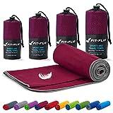 Juego de toallas de microfibra Fit-Flip - 18 colores, muchos ...