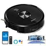 Ultenic robot vacuum cleaner, D5S PRO robot vacuum cleaner with mopping function with 2500Pa strong suction power, 3 in ...